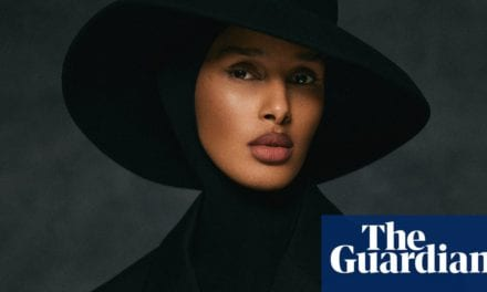 Model behind 'hands off my hijab' post is named Vogue Scandinavia editor | Fashion | The Guardian