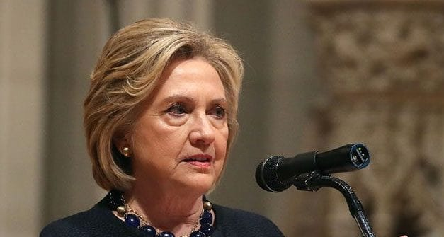 Hillary Clinton Spreads Fake News: 'Angry Mob' 'Killed a Policeman'
