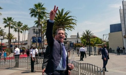 Newsom's latest recall strategy: Give away cash, hang with celebrities