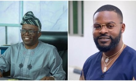 Thanks for being a great teacher & mentor – Falz celebrates his father's birthday in style