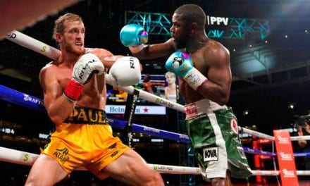 Logan Paul avoided a knockout from Floyd Mayweather as their extraordinary exhibition went the eight-round distance | Boxing News | Sky Sports