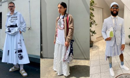 Men's Skirts Are on the Rise: 5 Street Style Stars Share Their Favorite Brands | Vogue
