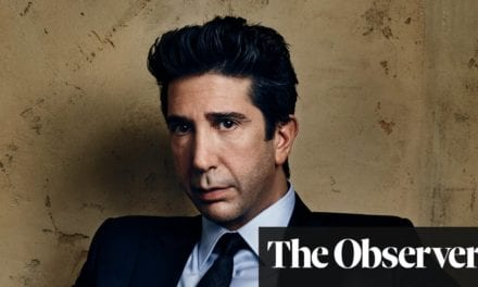 David Schwimmer: 'I was a roller-skating waiter for seven years' | Life and style | The Guardian