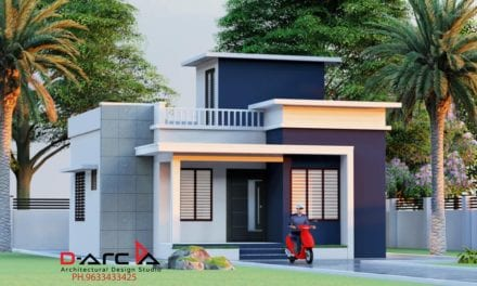 665 Sq Ft 2BHK Modern Simple Style Home and Free Plan, 10 Lacks – Home Pictures