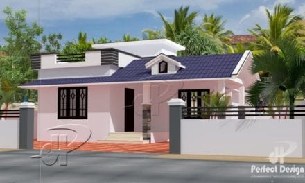 862 Sq Ft 2BHK Traditional Style Single Floor House and Free Plan – Home Pictures