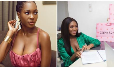Drama as fashion brand calls out Vee for not paying up before signing out of the contract