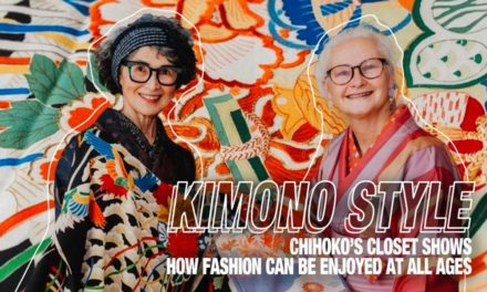 [Kimono Style] Chihoko's Closet Shows How Fashion Can Be Enjoyed at All Ages
