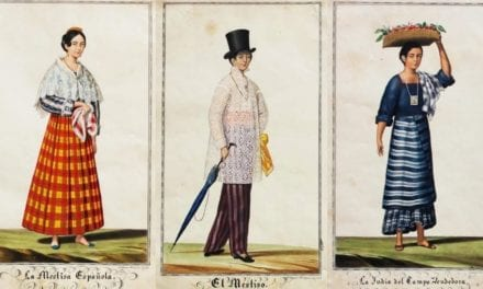 These Antique Postcards Beautifully Depict 1840s Filipino Fashion