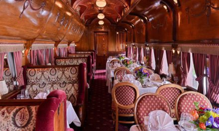 Dine in style inside this 1890s parlor car at the Madison Hotel in New Jersey – ABC7 New York