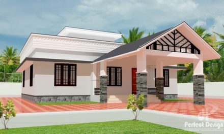 1108 Sq Ft 3BHK Traditional Style Beautiful Home and Free Plan, 16 Lacks – Home Pictures