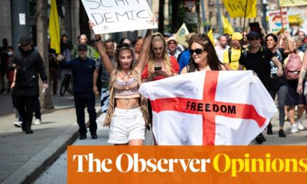 Anti-vaxxers using pro-choice slogans make me so angry   Life and style   The Guardian
