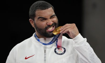 US wrestler Gable Steveson wins gold medal in dramatic fashion at Tokyo Olympics   Fox News