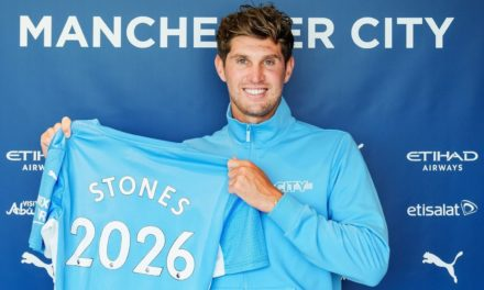 John Stones: Man City defender signs contract extension until 2026 | Football News | Sky Sports