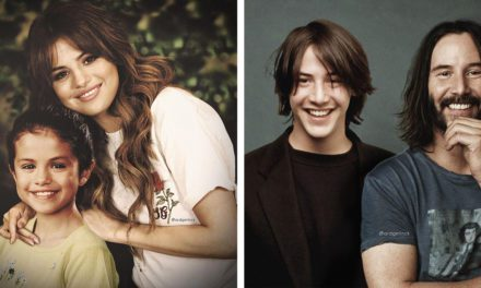 Photoshop Expert Creates Photos of Celebrities With Their Younger Selves