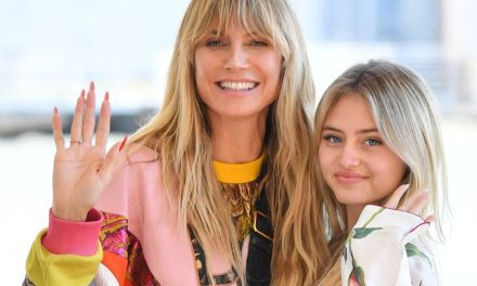 Heidi Klum's daughter has darling reaction after seeing mom in audience of fashion show