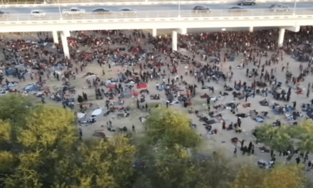 UPDATE: FAA temporarily grounds Fox News drone after it captures viral images of thousands of migrants at border; Ted Cruz reacts: 'Ridiculous,' 'never seen anything like that'