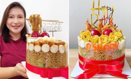 Indonesian-Style Mee Goreng Cake From $36 For Birthdays With A Savoury Twist