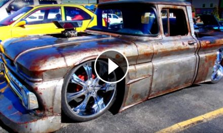 MAD MAX Style UNIQUE 62 Chevy Street Truck