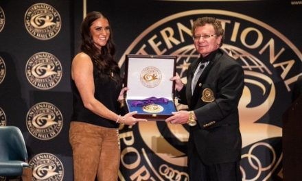 Stephanie McMahon inducted into the International Sports Hall of Fame