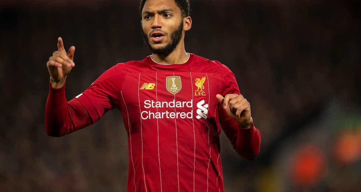 Joe Gomez explains Liverpool's added motivation as he lastly makes his mark on top