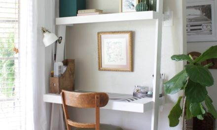 This Desk Before and After Is the Only Decluttering Motivation You Need