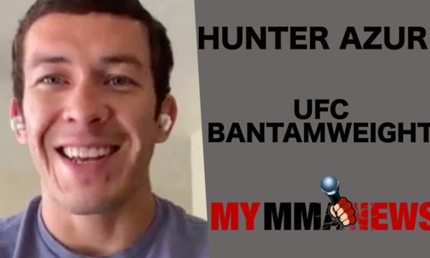 Son's birth during pandemic is motivation for Hunter Azure ahead of May 13 UFC fight