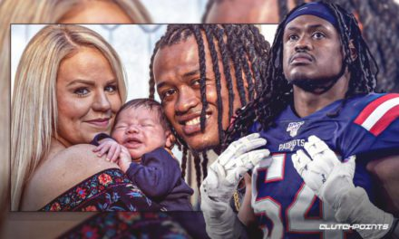 Dont' a Hightower utilized legendary '28-3 ′ as inspiration for fiancee throughout 17 hours of labor