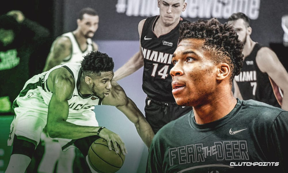 Bucks' Giannis Antetokounmpo views Game 1 blunders as motivation after loss to Heat