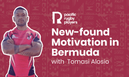 New-found motivation in Bermuda with Tomasi Alosio – Pacific Rugby Players