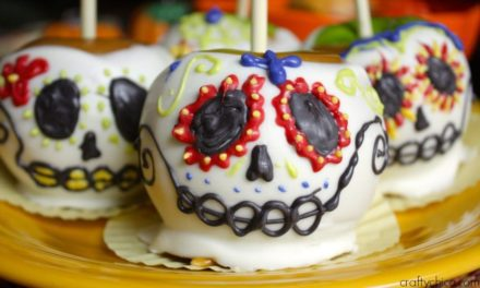 Sugar Skull Caramel Apples – The Crafty Chica! Crafts, Latinx art, creative motivation