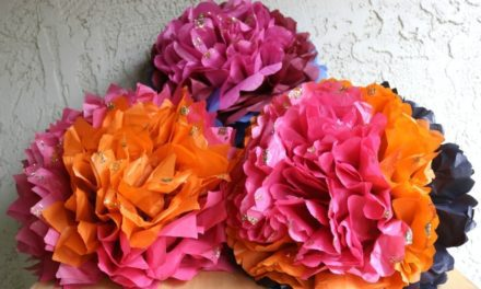 Jumbo Tissue Paper Flowers – The Crafty Chica! Crafts, Latinx art, creative motivation
