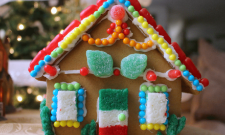Mexican Candy Gingerbread House – The Crafty Chica! Crafts, Latinx art, creative motivation