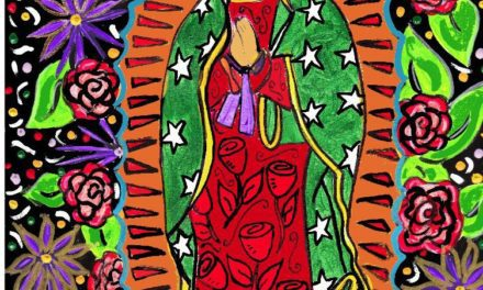 Our Lady of Guadalupe, illustrated love times three… – The Crafty Chica! Crafts, Latinx art, creative motivation