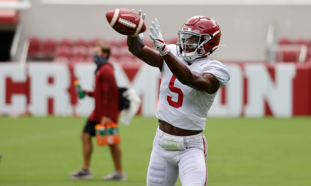 Alabama wide receiver, Javon Baker shares his motivation going into next season